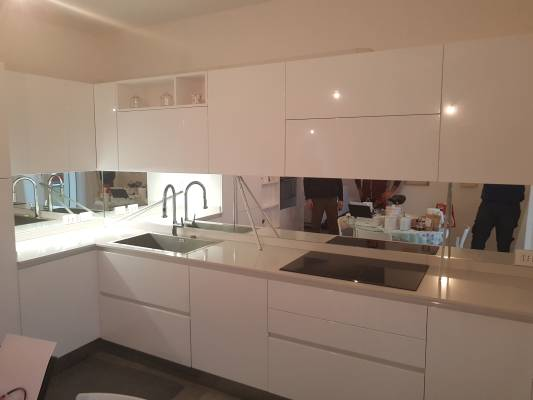 Alzatine specchiere e rivestimenti per bagni e cucine - Alzatine per cucine ...